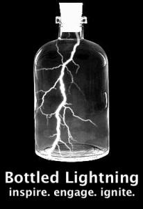Bottled Lightning Logo